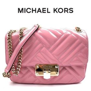 • Michael Kors Quilted Vegan Faux Leather Bag